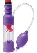 Pump Worx Head Job Vibrating Power Pump Purple