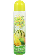 Sex Sweet Lube Flavored Water Based Lubricant Mango Melon...