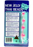 New Jelly Thai Beads Pink