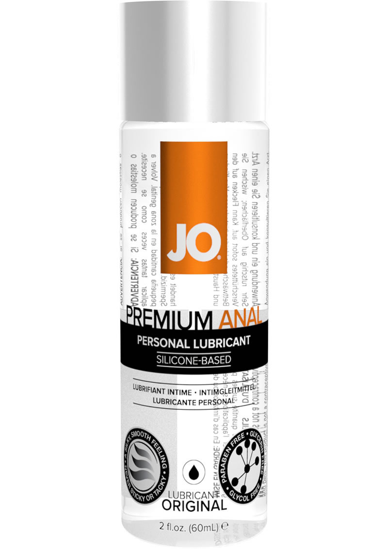 Jo Premium Anal Silicone Lubricant 2.5 Ounce