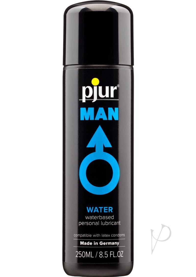 Pjur Man Basic Waterglide Water Based Lubricant 8.5 Ounce