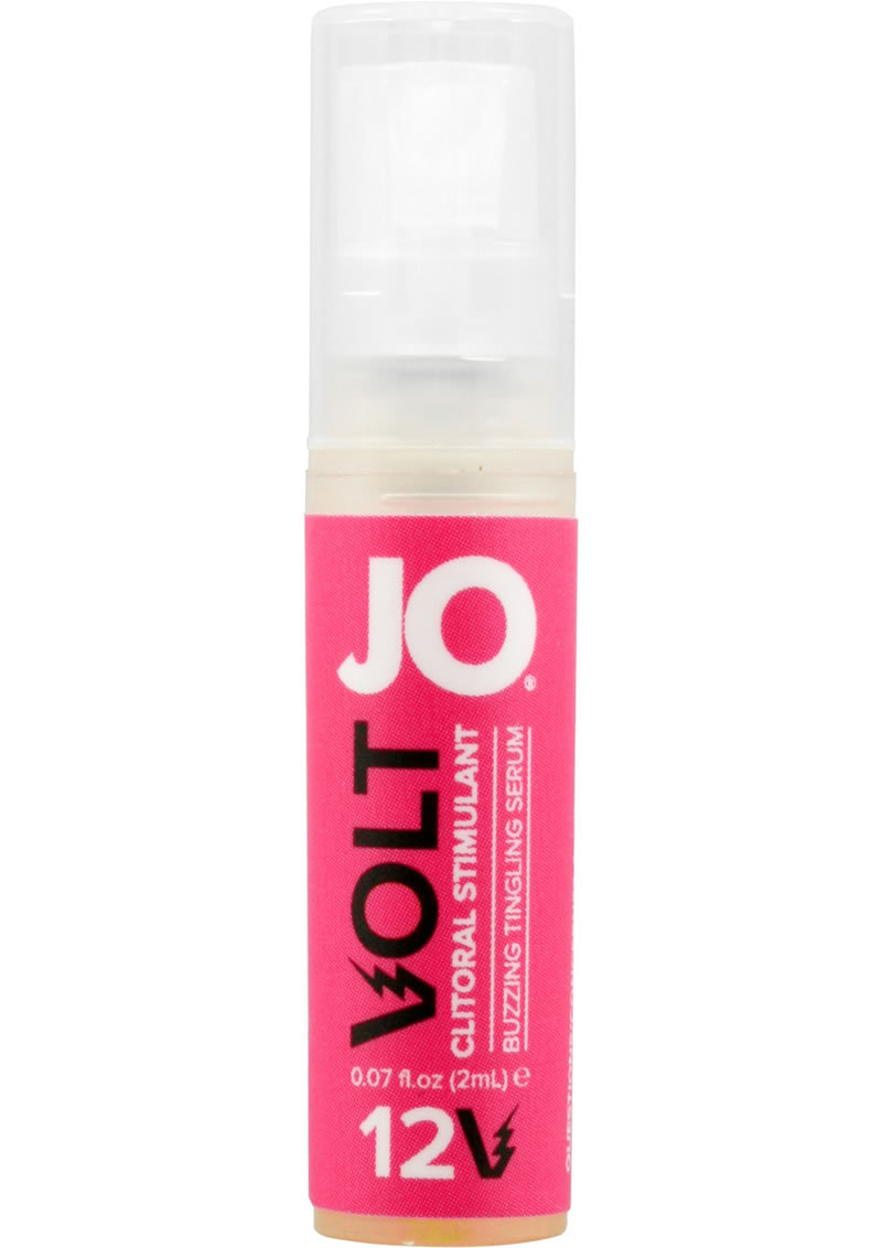 Jo Volt 12v With Added Sensation Arousing Tingling Serum .07 Ounce