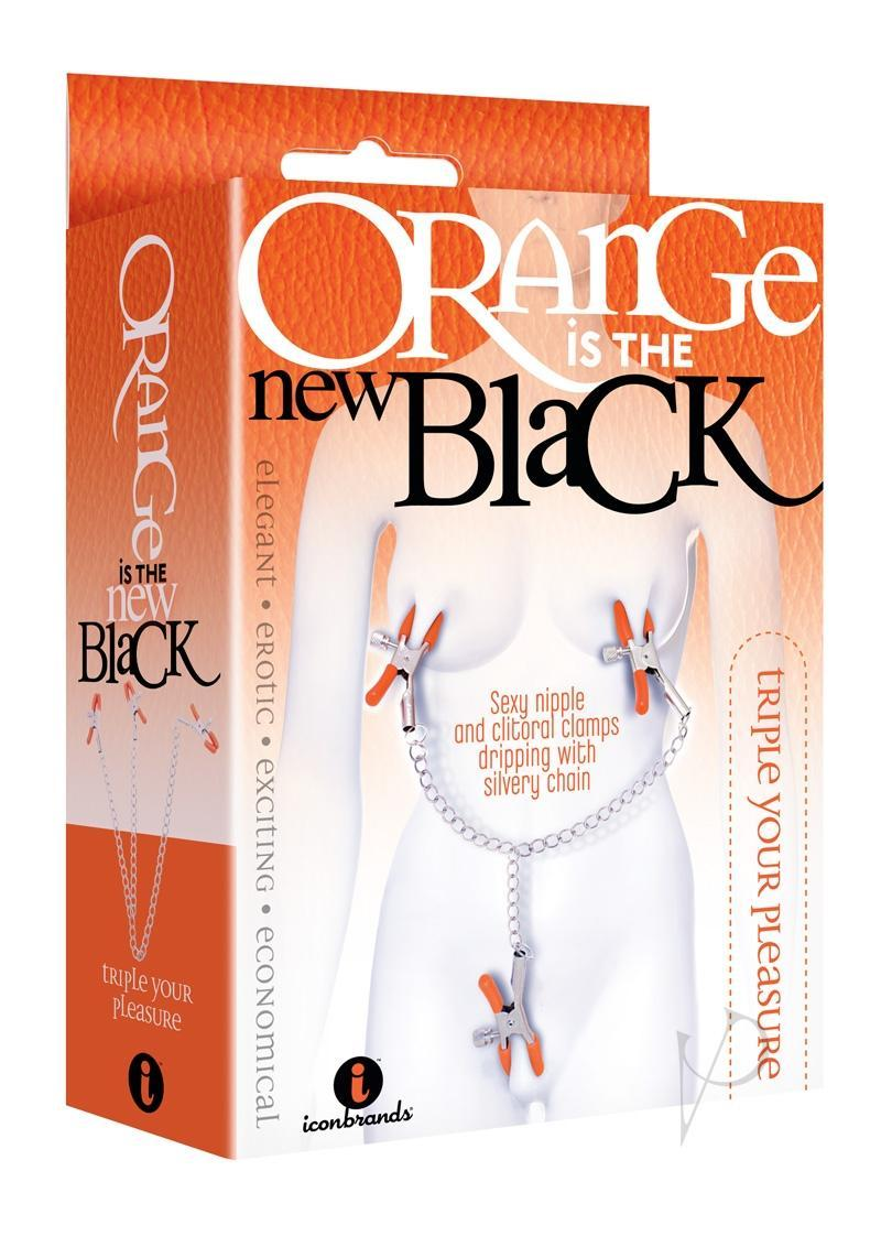 Orange Is The New Black Triple Your Pleasure Nipple And Clitoral Clamps