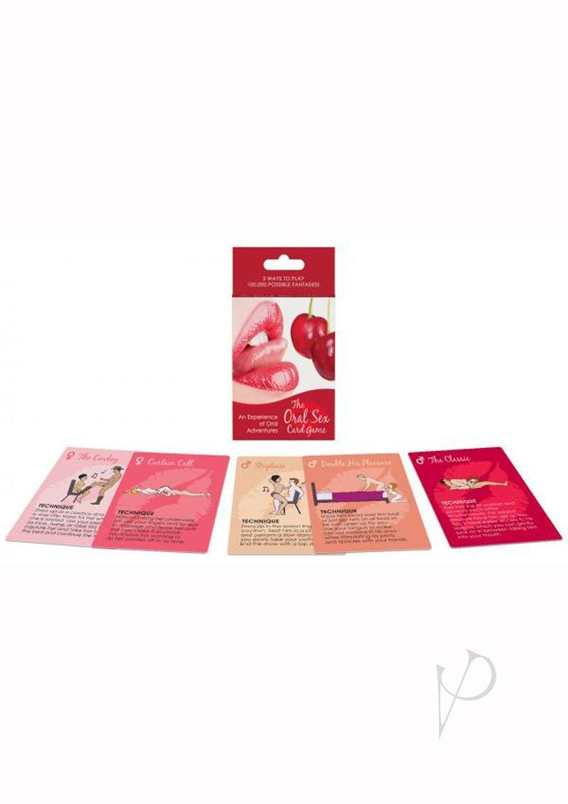 The Oral Sex Card Game 54 Oral Sex Playing Cards